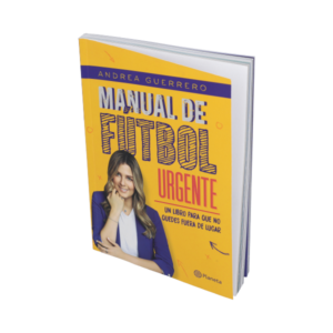 Libro Manual de Fútbol urgente Andrea Guerrero